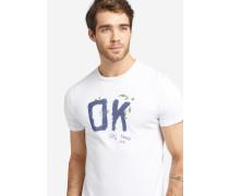 T-Shirt ELIJAH OK weiß
