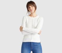 Pullover DAISY weiß