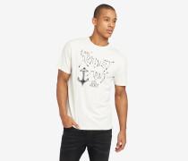 T-Shirt FINN ANCHOR weiß