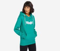 Sweatshirt JULIE PRINT grün