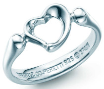 Elsa Peretti® Open Heart Ring in Sterlingsilber