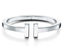 Tiffany T Square Armreif aus Sterlingsilber