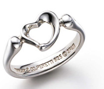 Elsa Peretti® Open Heart Ring in Sterlingsilber