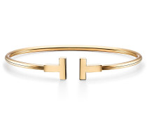 Tiffany T Wire Armreif in 18 Karat Gold