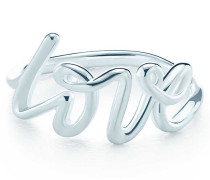 Paloma's Graffiti Love Ring in Sterlingsilber