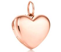 Herzmedaillon aus 18 Karat Roségold