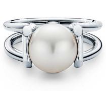 Tiffany City HardWear Ring mit Süßwasserperle in Sterlingsilber