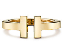 Tiffany T Square Ring in 18 Karat Gold