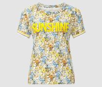 Statement-Shirt mit Flower-Print