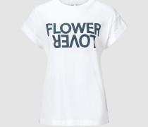"""T-Shirt mit Print """"Flower Lover"""""""