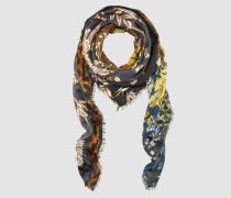 Schal im floralen Mustermix