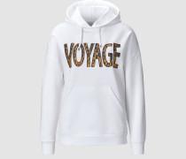 """Hoodie mit """"Voyage"""" Print"""