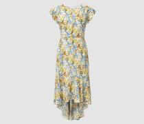 Langes Kleid mit Blütenprint