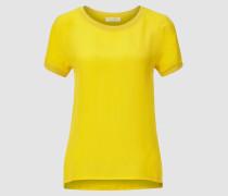 Basic-Shirt mit feiner Struktur