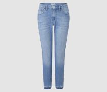 Statement-Jeans im verkürzten Relaxed-Fit