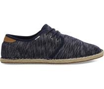 Dunkelblau Jersey Diego Sneaker
