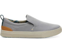 Grau Canvas Trvl Lite Slipper