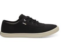 Schwarze Canvas Carmel Sneaker