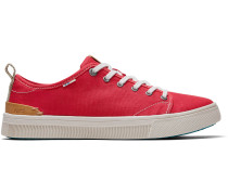 Rote Canvas Trvl Lite Low-Top-Sneakers
