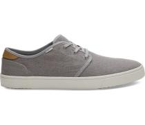 Graue Canvas Carlo Sneaker