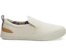 Beige Canvas Trvl Lite Slipper
