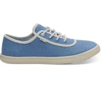 Blaue Canvas Carmel Sneaker