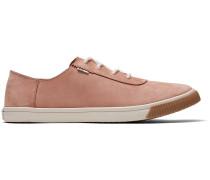 Rosa Nubuck Carmel Sneakers