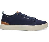 Dunkelblau Canvas Trvl Lite Low-Top-Sneaker