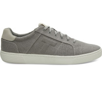 Graue Canvas Leandro Sneaker