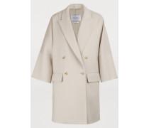 Mantel aus Wolle Fibra