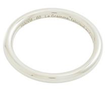 3g polished sterling silver bangle ring
