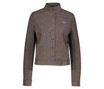 Jacke aus Wollgemisch