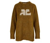 Pullover aus Mohair-Gemisch
