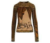 Bedrucktes Langarm-T-Shirt
