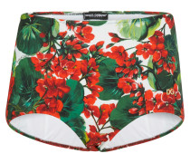 Bedruckte Bikini-Hose