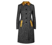 Mantel aus Mischwolle