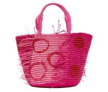 Mittlerer Polka-Einkaufstasche