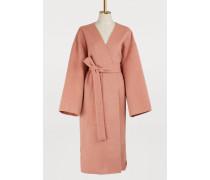 Kimono-Mantel aus Wolle und Kaschmir
