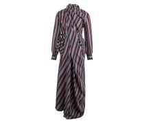 Langes Kleid mit langen Ärmeln