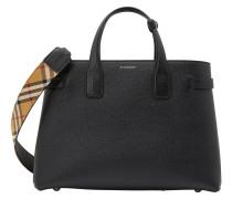 Handtasche aus genarbtem Kalbsleder