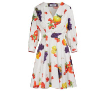 Kleid mit Obstprint
