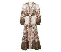 Langes geknöpftes Kleid
