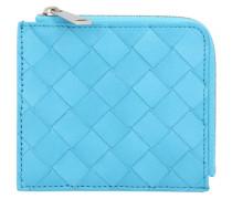 Brieftasche mit Reißverschluss Intrecciato