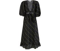 Midi-Kleid aus Seide