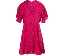 Kurzes Kleid mit Punktmuster