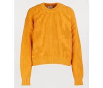 Oversize-Pullover mit großen Maschen