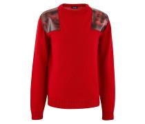 Pullover mit Aufnähern