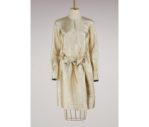 Metallisiertes Kleid Farrah