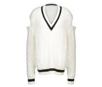 Pullover aus Wolle und Angora