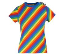 Gestreiftes T-Shirt aus Jersey